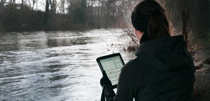 iPad App flowcapture im Einsatz